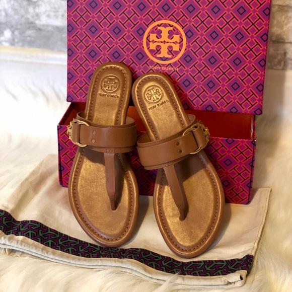 4678b48c875c33 BRAND NEW Tory Burch Marsden tan sandal 7.5